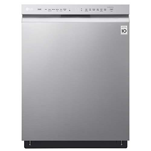 LG LDF5545ST 24' Front Control Dishwasher w/QuadWash