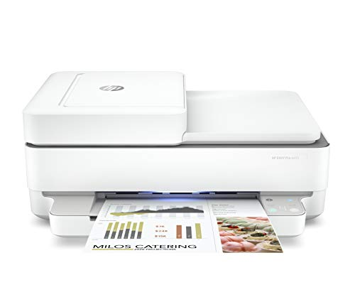 HP ENVY Pro 6455 Wireless All-in-One Printer   Mobile Print, Scan & Copy   Auto Document Feeder (5SE45A)
