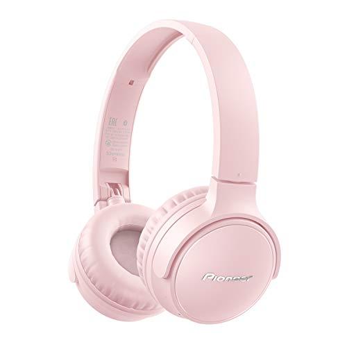 Pioneer S3 Wireless Cuffie Bluetooth 5.0, sigillate fino a 25 ore di utilizzo [Importazione Giappone] taglia unica rosa