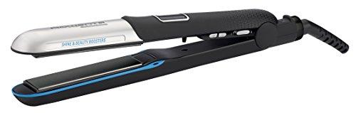 Rowenta SF6220 Liss&Curl Ultimate Shine Piastra per Capelli Lisci o Ricci 2 in 1, con Doppio Generatore di Ioni
