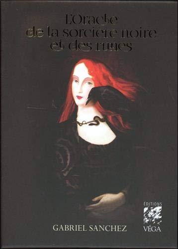L'oracle de la sorcière noire et des runes : Avec 1 livret, 44 cartes oracle, et 1 sac en satin pour protéger les cartes