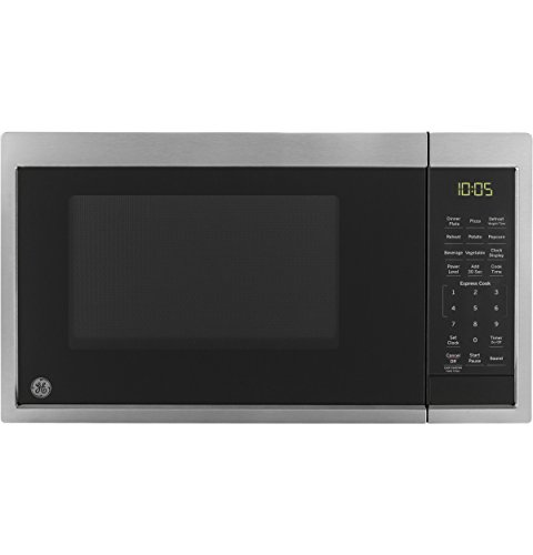 GE Appliances JES1095SMSS GE 0.9 Cu. Ft. Capacity Countertop Microwave Oven, Stainless Steel