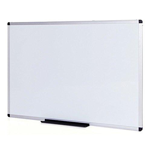 VIZ-PRO Lavagna Magnetica, cornice in alluminio, 100 x 80 cm