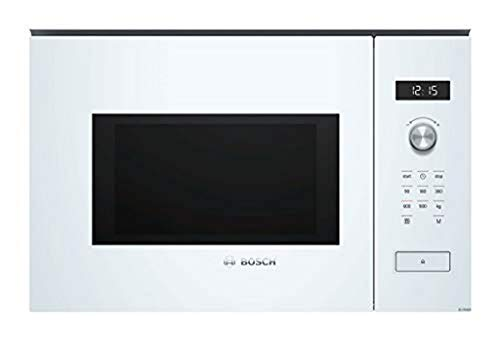 Micro ondes Encastrable Bosch BFL554MW0 - Micro-Ondes Integrable Blanc - 25 litres - 900 W