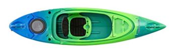 Perception Kayaks Flash 9.5 | Sit Inside Kayak for Fishing and Fun | Two Rod Holders | Multi-Function Dash | 9' 6"