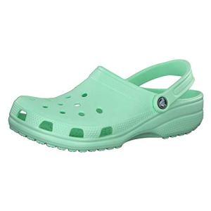 Crocs Classic Clog | Comfortable Slip on Casual Water Shoe, Neo MINT, 8 US Women / 6 US Men M US
