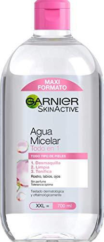 Garnier Skin Active - Agua Micelar Clásica Todo en Uno, Pieles Normales, Formato Maxi,...