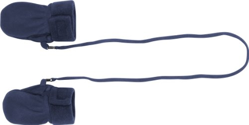 Playshoes Fleece-Baby-Fustlinge Guanti, Blu (Bleu 17), FR (Taille Fabricant : 6-12) Unisex-Bambino