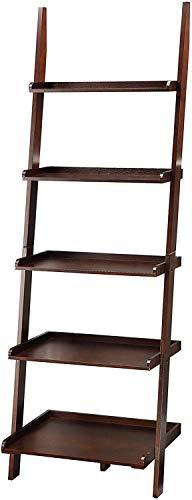 4. Convenience Concepts American Heritage Bookshelf Ladder, Espresso
