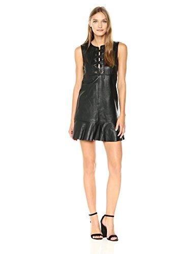 31U2HeKPnYL Leather Dress