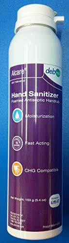 DEB STERIS Alcare Foamed Antiseptic Handwash 5.4oz 6395-57 3-PACK Surgical Handrub Scrub