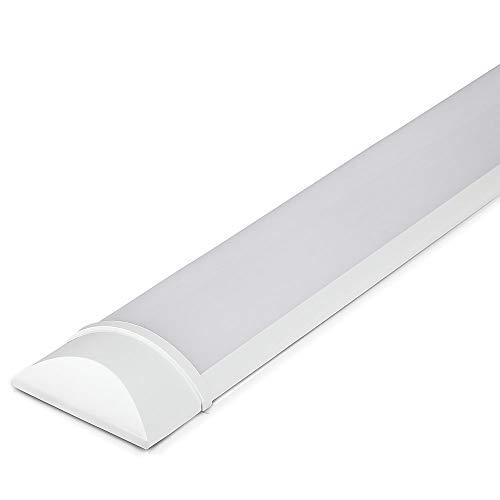 V-TAC 50W 5ft LED a tubo Integrato Lampada Tubo 4000K bianco giorno 1500x74x24mm Illuminazione a parete e soffitto 30000h Lunga durata di funzionamento