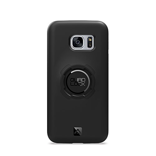 Quad Lock QLC-GS7, Custodia per Samsung Galaxy S7, Nero