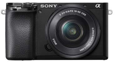 Câmera sony a6100 (ilce-6100y) kit 16-50mm + 55-210mm