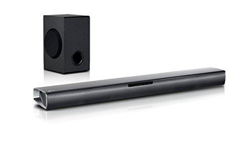 LG SJ2 - Barra de sonido inalá (2.1 channels, 160 W, 60 W, 10...
