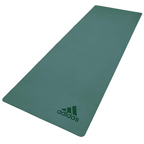 adidas Premium, Tappetino Yoga, 5 mm Unisex-Adult, Verde