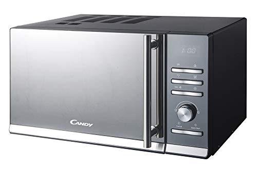 Candy CMGE20BS Forno a Microonde con Funzione Grill, 900 W, 20 Litri, Alluminio, Nero