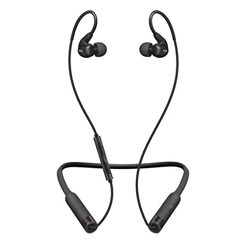 RHA T20 Wireless In-Ear Monitors: HiFi IEMs with Detachable Cable & Bluetooth Neckband