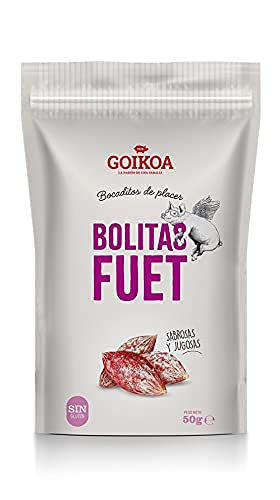 Goikoa Mini Fuet Bolitas para Aperitivos | Sin Gluten | Cali