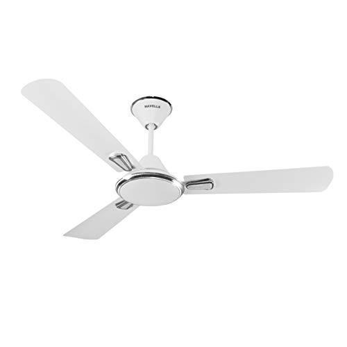 Havells Festiva 1200mm Dust Resistant Ceiling Fan (Pearl White Silver)