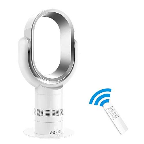 Silenzioso Ventilatore a Torre, Acoolir Ventilatore Senza Pale Portatile con 10 Livelli di + Velocit...