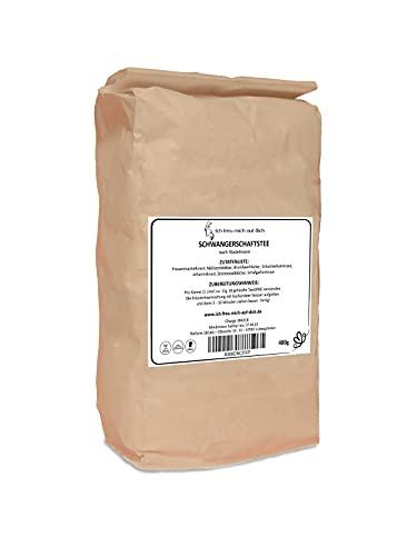 Schwangerschaftstee Stadelmann - 400g Vorratspackung - Kräutertee für die Schwangerschaft - ohne Zusätze - hergestellt in Deutschland