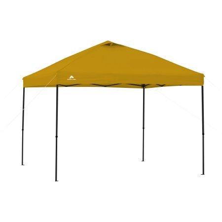 Ozark Trail.. 10 x 10 Straight Leg Instant Canopy (Yellow)