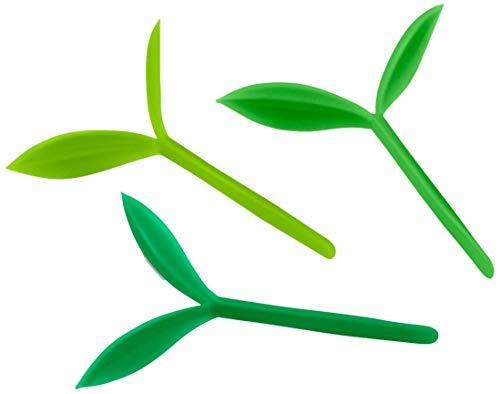 Fred and Friends Little Green - Marcapáginas, color verde, Brote, Verde col, Set de 6