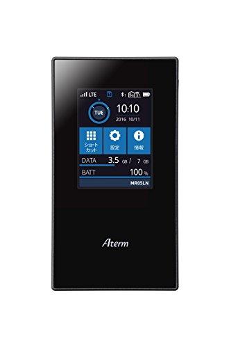 Aterm(NEC) MR05LN [データプラン対応SIMセットモデル/デュアルSIM/nanoSIM×2] LTEモバイルルーター (150以...