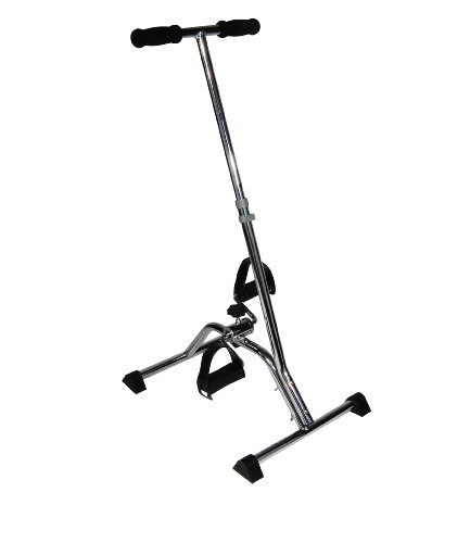 Drive Medical Exercise Peddler with Handle, Silver
