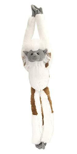 Wild Republic - Hanging Monkey, mono de peluche tití cabeza