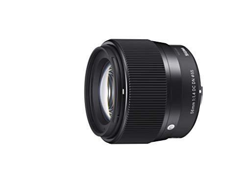 Sigma 56mm F1,4 DC DN Contemporary Objektiv (55mm Filtergewinde) für Sony-E Objektivbajonett