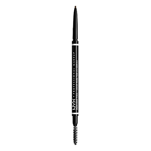 NYX PROFESSIONAL MAKEUP Micro Brow Pencil, Eyebrow Pencil, Ash Brown