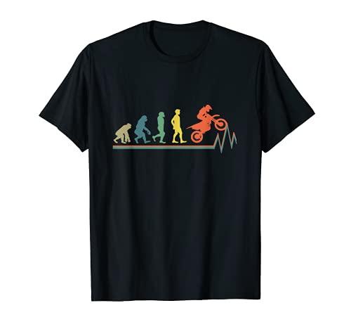 クールなモトクロスとスーパーモタードのダートバイクギフトの息子 Tシャツ
