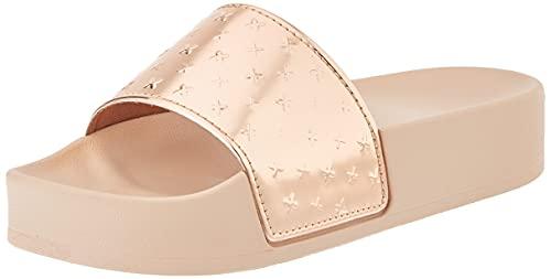 Munich Gold-Pink, Slide Platform Mirror Unisex Adulto, 40 EU