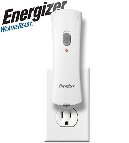 Energizer Compact Rechargeable Emergency LED Flashlight, Plug-in...
