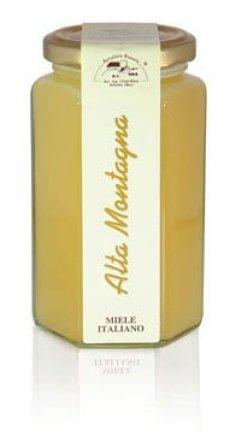 Apicoltura Cazzola - Miele di Alta Montagna (Rododendro) - Vasetto da 350 g
