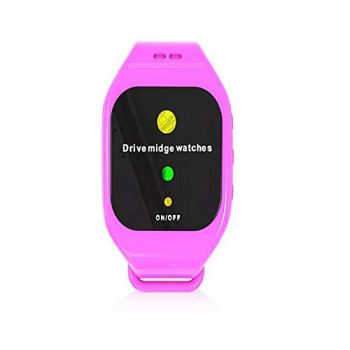 Onde Mosquito Silicone étanche Son électronique Répulsif Watch, Anti-Moustique Artefact, utilisé pour Le Camping et la randonnée, pour Adultes et Enfants,Rose
