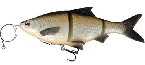 Savage Gear 3d Line Thru Roach 18cm pesce di gomma per esche luccio, luccio esca, Angel al luccio, esche per pesca al luccio, Bream, 18cm / 80g / langsam sinkend