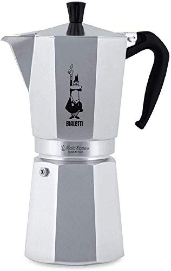 Nuova Moka Express Coffee Maker 18 Cups, 1147, Bialetti