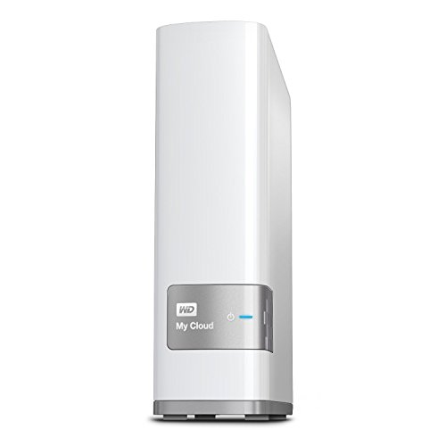 WD 3TB My Cloud Personal Network Attached Storage - NAS - WDBCTL0030HWT-NESN