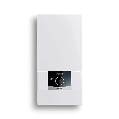 Vaillant elektronischer Durchlauferhitzer electronicVED, VED E 24/8, 24 kW, druckfest, Digitalanzeige, gradgenaue Auslauftemperatur, stufenlos einstellbar, 0010023779