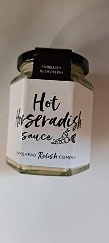 Salsa de rábano picante caliente 185g Hawkshead