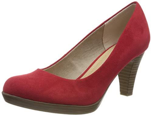 MARCO TOZZI 2-2-22411-34, Escarpins Femme, Rouge (Red 500), 40 EU