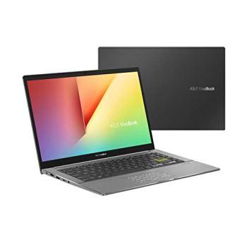 ASUS Vivobook S S433IA-HM849T PC Portable 14-14.9 FHD (R5 4500U, RAM 8G, 512G SSD PCIE, Windows 10) Clavier AZERTY Français