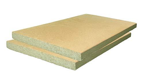 2 piastre in argilla refrattaria, 40 x 30 x 3 cm