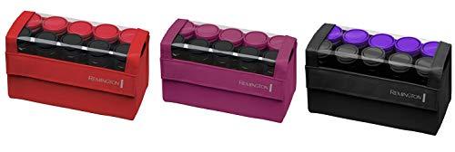 Remington H1016 Compact Ceramic Worldwide Voltage Hair Setter, Hair Rollers, 1-1  Inch, Purple/Black