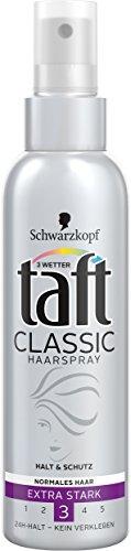 Schwarzkopf 3 Wetter Taft Classic Haarspray, 3er Pack (3 x 150 ml)