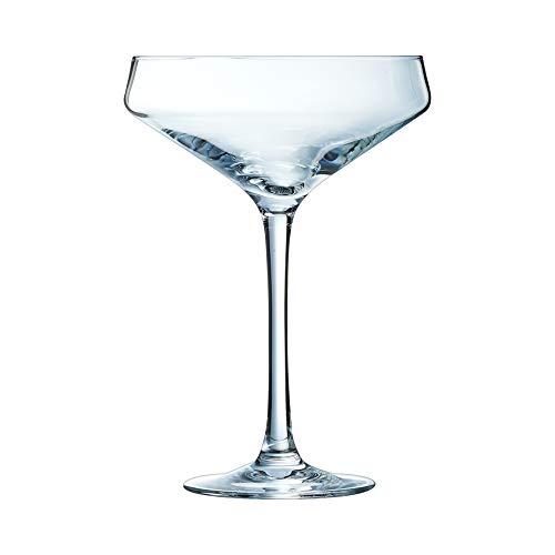 Chef & Sommelier - Bicchiere da champagne e cabernet da 300 ml, senza segno di riempimento, confezione da 6