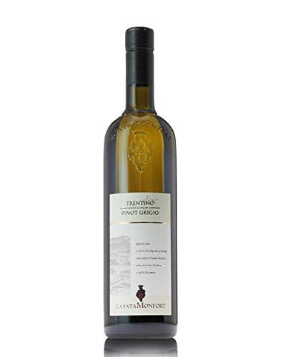Trentino Pinot Grigio DOC 2018  Casata Monfort - Cassa da 3 bottiglie